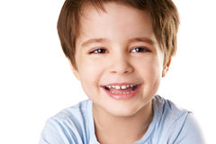 Laughing kid Royalty Free Stock Photography