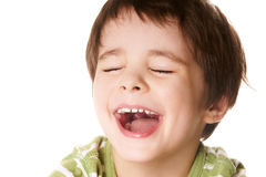 Laughing Kid Stock Image