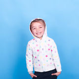 Laughing kid girl Stock Photography