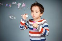 Laughing kid Stock Image