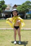 Laughing kid portrait Stock Photos