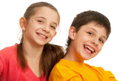 Laughing kids Royalty Free Stock Photos