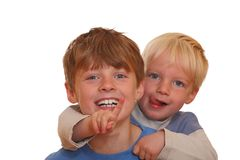 Laughing kids Stock Photos