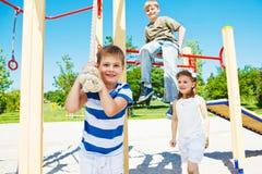 Laughing kids Royalty Free Stock Image