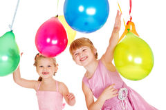 Laughing kids Royalty Free Stock Photography