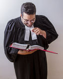 Laughing at the law Stock Photos