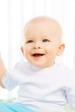 Laughing little baby Stock Photography
