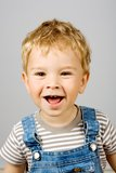 Laughing little boy Royalty Free Stock Photos