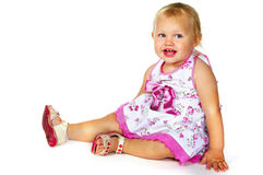 Laughing little girl Royalty Free Stock Photo