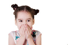 Laughing little girl Royalty Free Stock Photography
