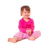 Laughing little girl Royalty Free Stock Images
