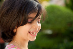 Laughing Little Girl Stock Image