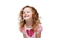 Laughing little girl Royalty Free Stock Photos