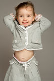 Laughing lovely little girl Royalty Free Stock Images