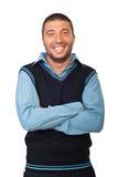 Laughing man Stock Image