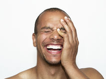 Laughing Man Royalty Free Stock Photo