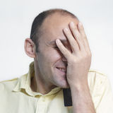 Laughing man Royalty Free Stock Photography