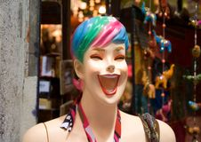 Laughing Mannequin Stock Photos