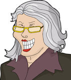 Laughing Mature Businesswoman Royalty Free Stock Photo