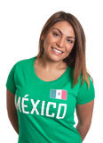 Laughing mexican girl Stock Images
