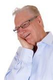 Laughing older man. Stock Images
