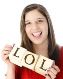 Laughing Out Loud Stock Photos