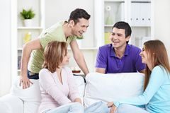 Laughing people Stock Images
