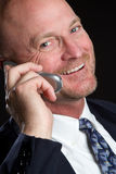 Laughing Phone Man Royalty Free Stock Photography
