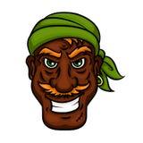 Laughing pirate sailor cartoon man Royalty Free Stock Photos