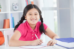 Laughing pupil Royalty Free Stock Photography