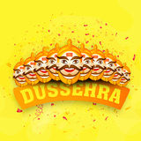 Laughing Ravana for Happy Dussehra celebration. Royalty Free Stock Photos