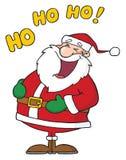 Laughing santa claus Stock Photography