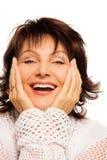 Laughing senior Royalty Free Stock Image