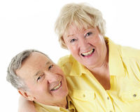 Laughing Senior Couple Stock Image