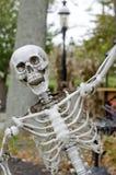 Laughing Skeleton Royalty Free Stock Photos