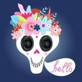 Laughing Skull royalty free illustration