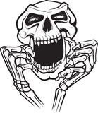 Laughing Skull Stock Images