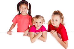 Laughing small kids Royalty Free Stock Photos