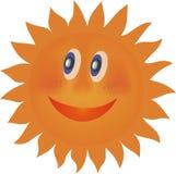 Laughing sun Royalty Free Stock Photo
