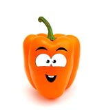 Laughing sweet pepper Royalty Free Stock Image