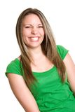 Laughing Teen Girl Royalty Free Stock Photography