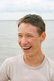 Laughing teenager Royalty Free Stock Image