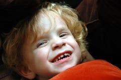 Laughing toddler Stock Image