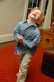 Laughing toddler Royalty Free Stock Photography