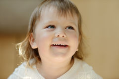 Laughing toddler Royalty Free Stock Image