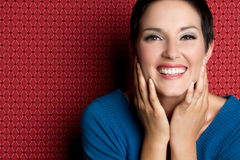 Laughing Woman Royalty Free Stock Photos