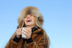 Laughing woman Stock Photography