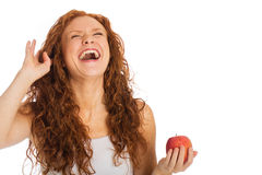 Laughing woman Royalty Free Stock Images