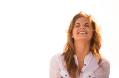 Laughing woman Royalty Free Stock Image