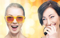 Laughing women Royalty Free Stock Images